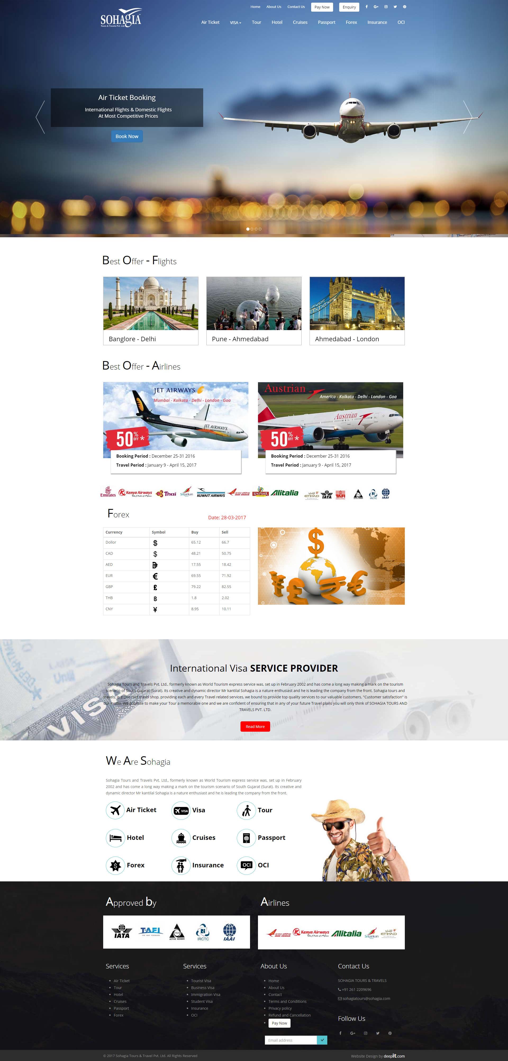 Sohagia Tours &Travels Pvt. Ltd.
