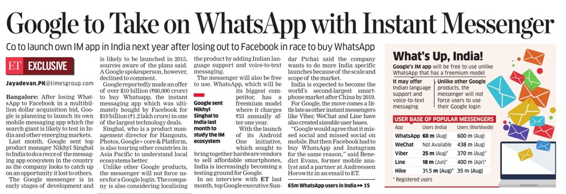 google-to-take-on-whatsapp