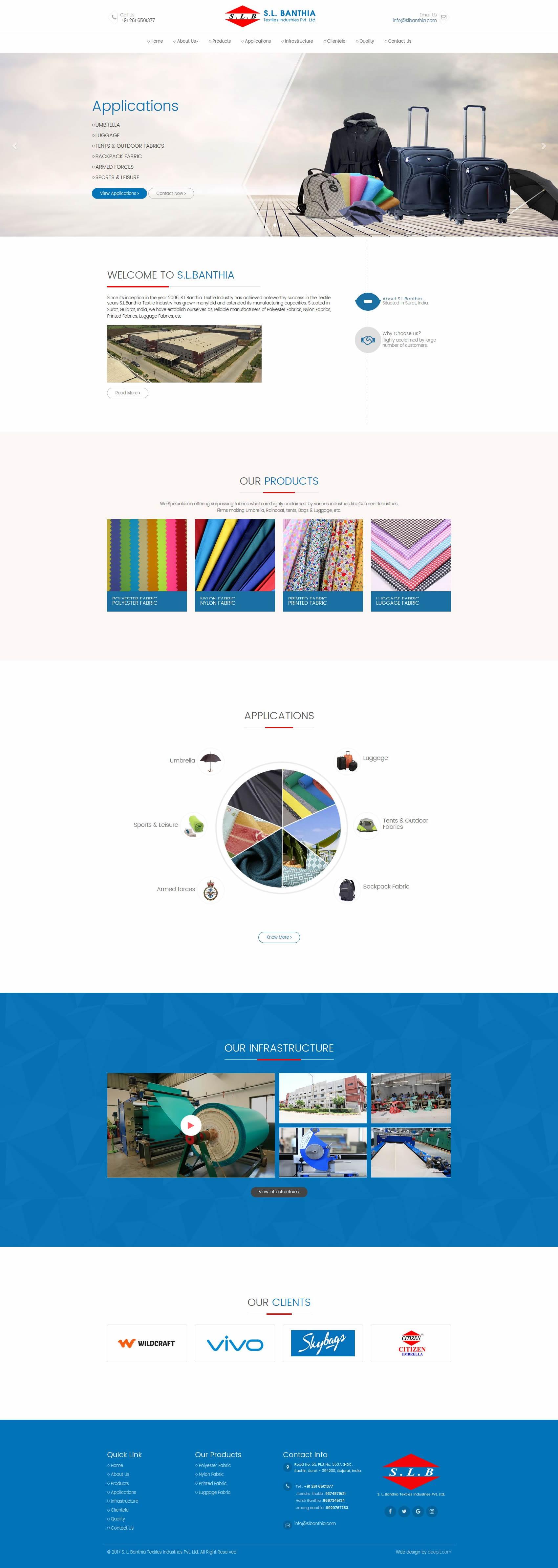S. L. Banthia Textiles