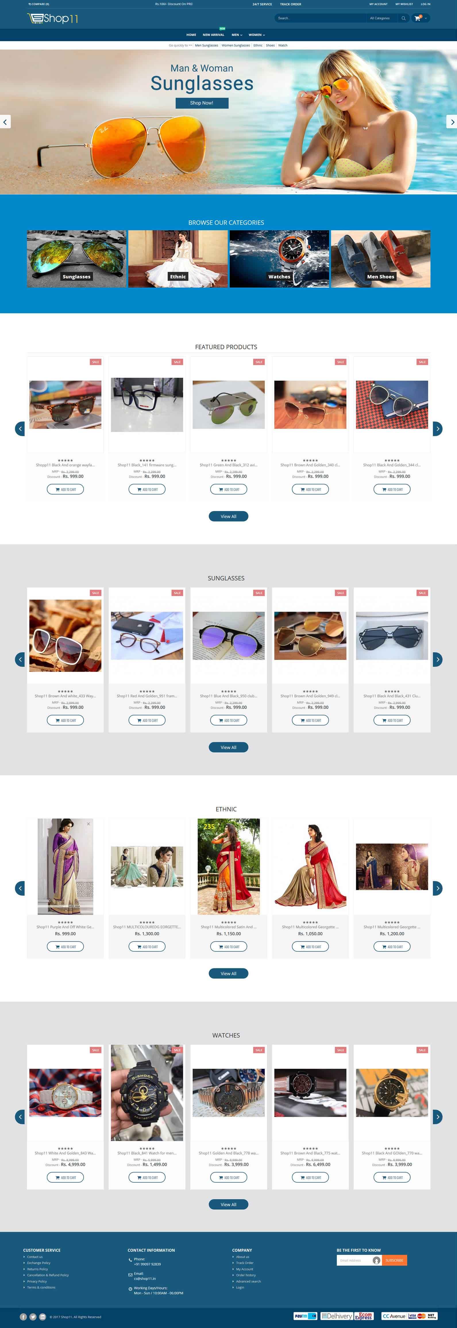 Shop11.in Online Shoping