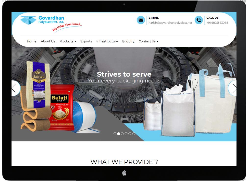 Govardhan polyplast Pvt Ltd.