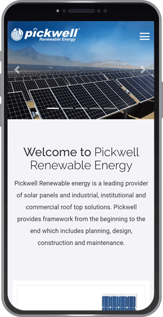 Pickwell Renewable Energy