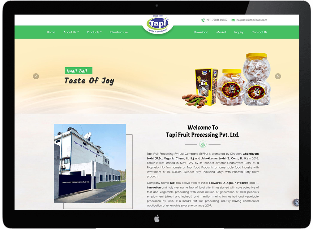 Tapi Fruit Processing Pvt. Ltd.